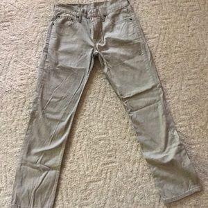 Levis 511 khaki jeans